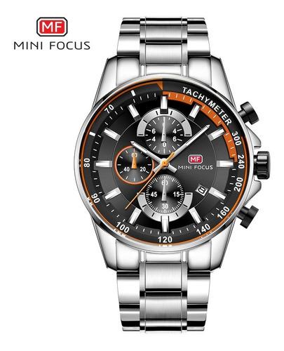 homens negócio de quartzo relógios de pulso-laranja