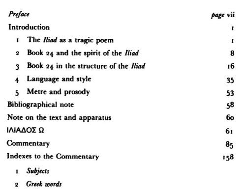 homer - iliad bok xxiv (texto griego con cometarios en ingl)