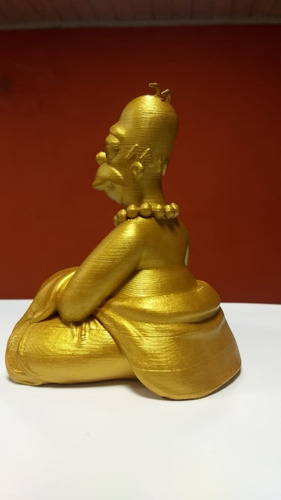 homero buda figura muñeco estatua simpson 3d 13cm