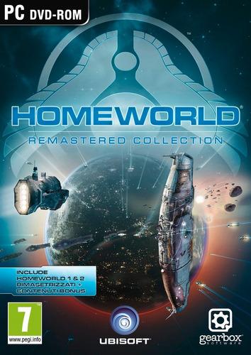 homeworld colección remasterizada juego para pc físico