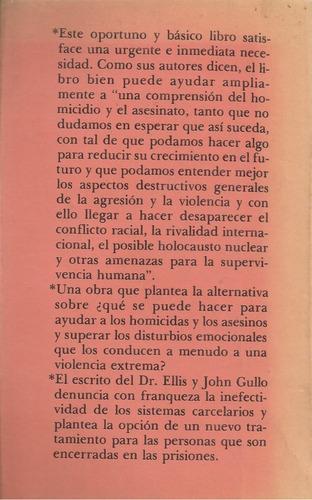 homicidios y asesinatos / albert ellis y john gullo