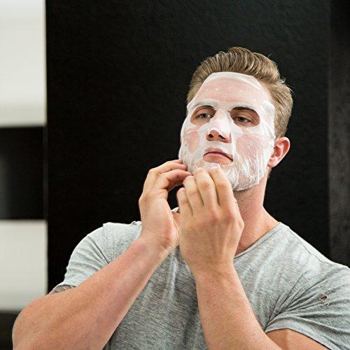 hommeface ultra soother - máscaras faciales para hombres (