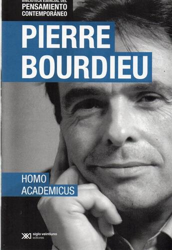 homo academicus pierre bourdieu (sx)