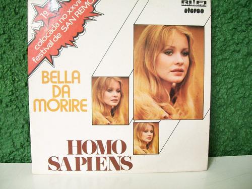 homo sapiens 1977 compacto novo !