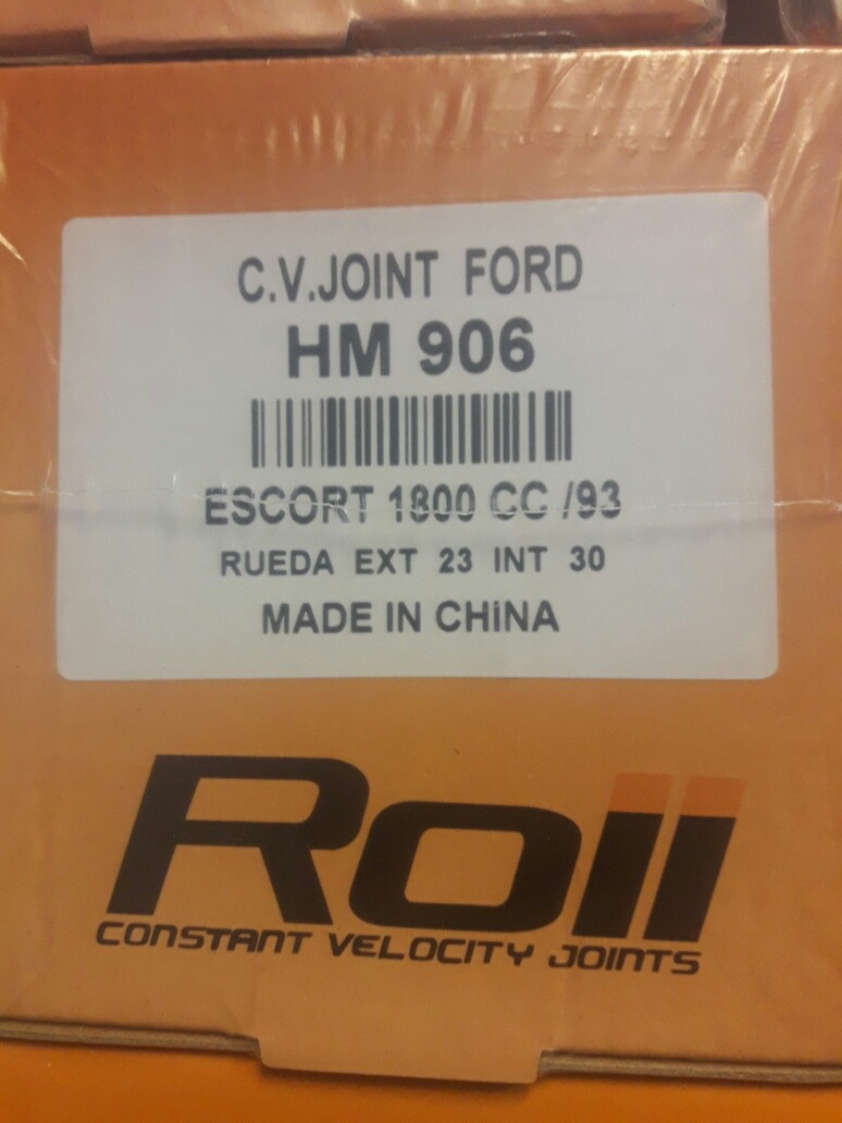 Ford escort cvjoint are not