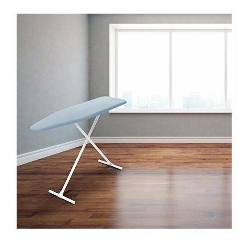 homz t-leg steel top tabla de planchar con almohadilla de es