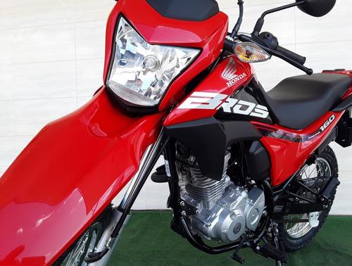 honda 160 bros - painel digital blackout - freios cbs  vd/tr