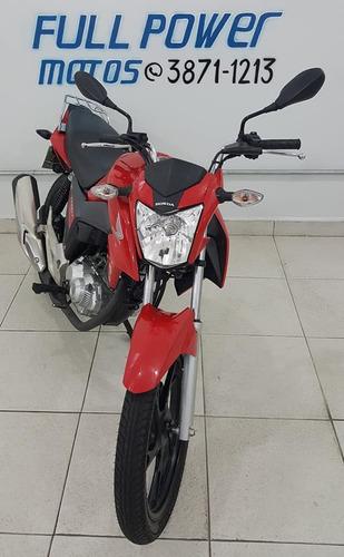 honda 160 titan 160 ex 2017 vermelha