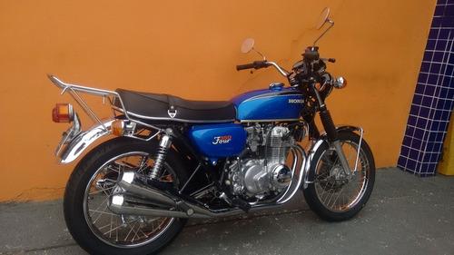 honda 350 four - 1973 - linda e impecável