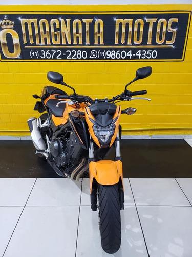 honda  500 f - laranja - 2019 -  km 3.410  / 11977401073