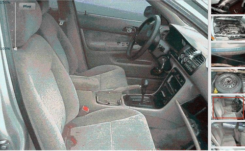honda accord 1997 accidentado por partes