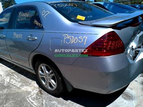 honda accord 2.4 06-07 autopartes refacciones yonkeado