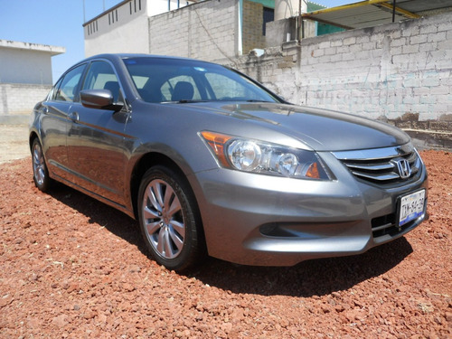 honda accord 2.4 ex sedan l4 piel abs cd mt
