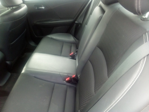 honda accord 2.4 sport cvt asientos tela-piel opción crédito