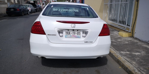 honda accord 3.0 ex sedan v6 piel abs qc cd mt 2006