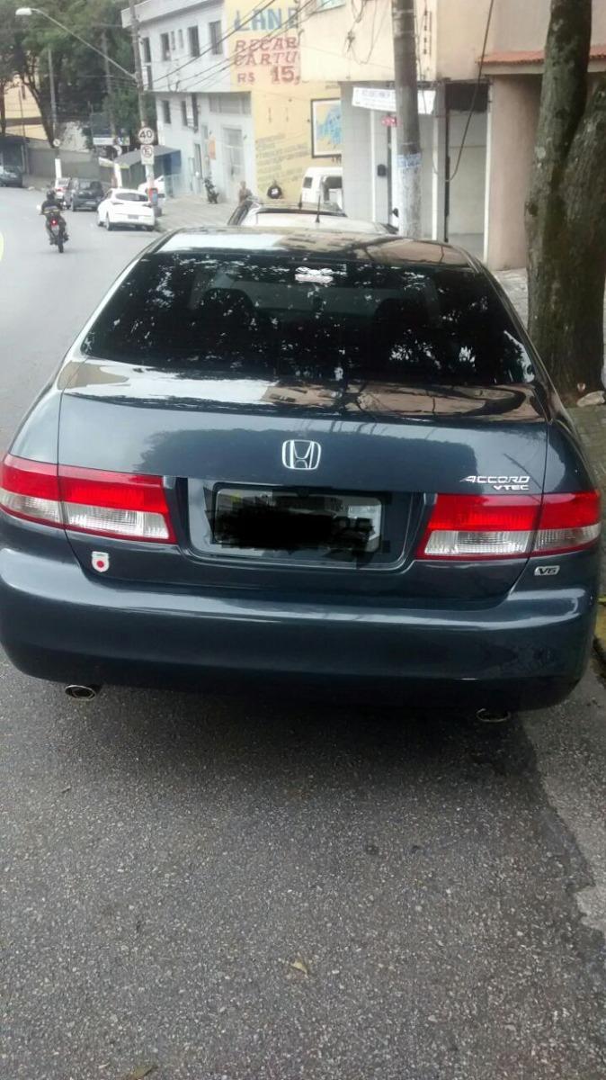 Honda Accord 3.0 V6 Ex 4p 2004. Carregando Zoom.
