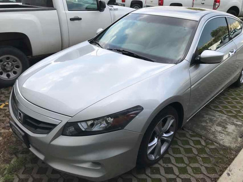 honda accord 3.5 ex coupe v6 piel abs qc cd at 2012