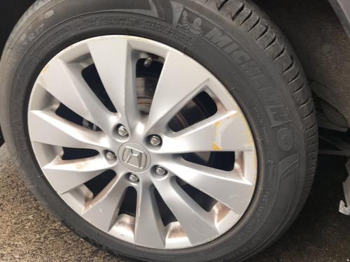 honda accord 3.5 ex-l sedan v6 piel abs qc cd nav cvt 2013