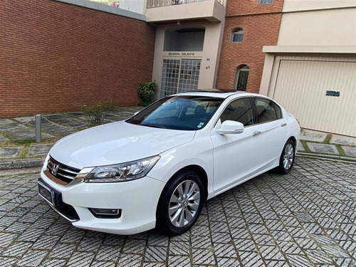 honda accord 3.5 ex v6 24v gasolina 4p automático 2013/2013