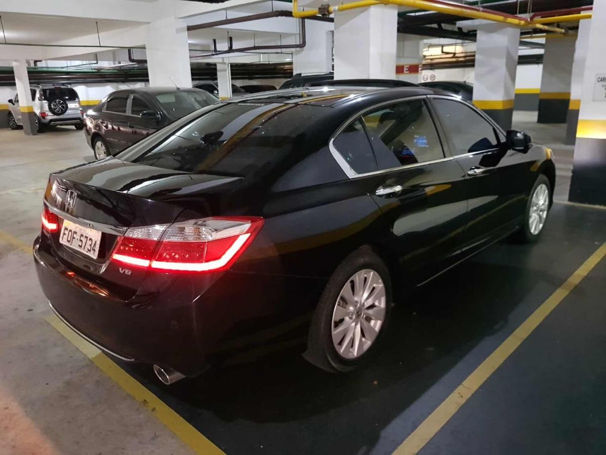 Honda Accord 3.5 V6 Ex 4p 2014. Carregando Zoom.
