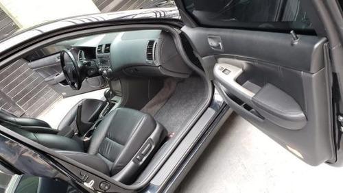 honda accord ex 3.0 v6 automático blindado + teto