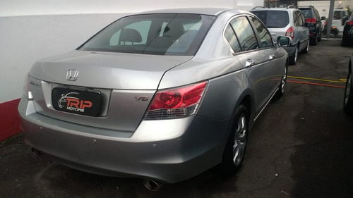 honda accord ex 3.5 v6 2009 blindado n3 impecavel 76.000kms