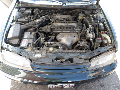 honda accord ex at 2.4 1994 automático verde techo cuero