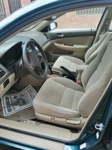 honda accord motor 2.4 2003 verde 4 puertas sun run