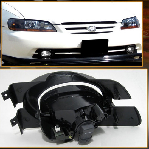 honda accord sedan 1998 - 2002 par de faros antiniebla