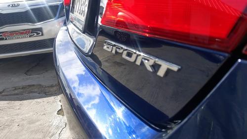honda accord sport azul 2015