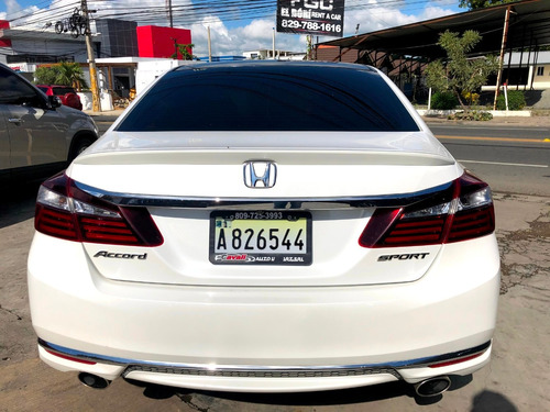 honda accord sport blanco 2016