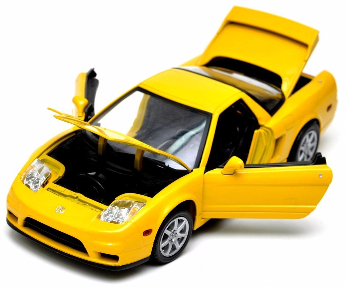 Honda Acura Nsx 1:18 Motormax Carros Miniaturas Réplicas