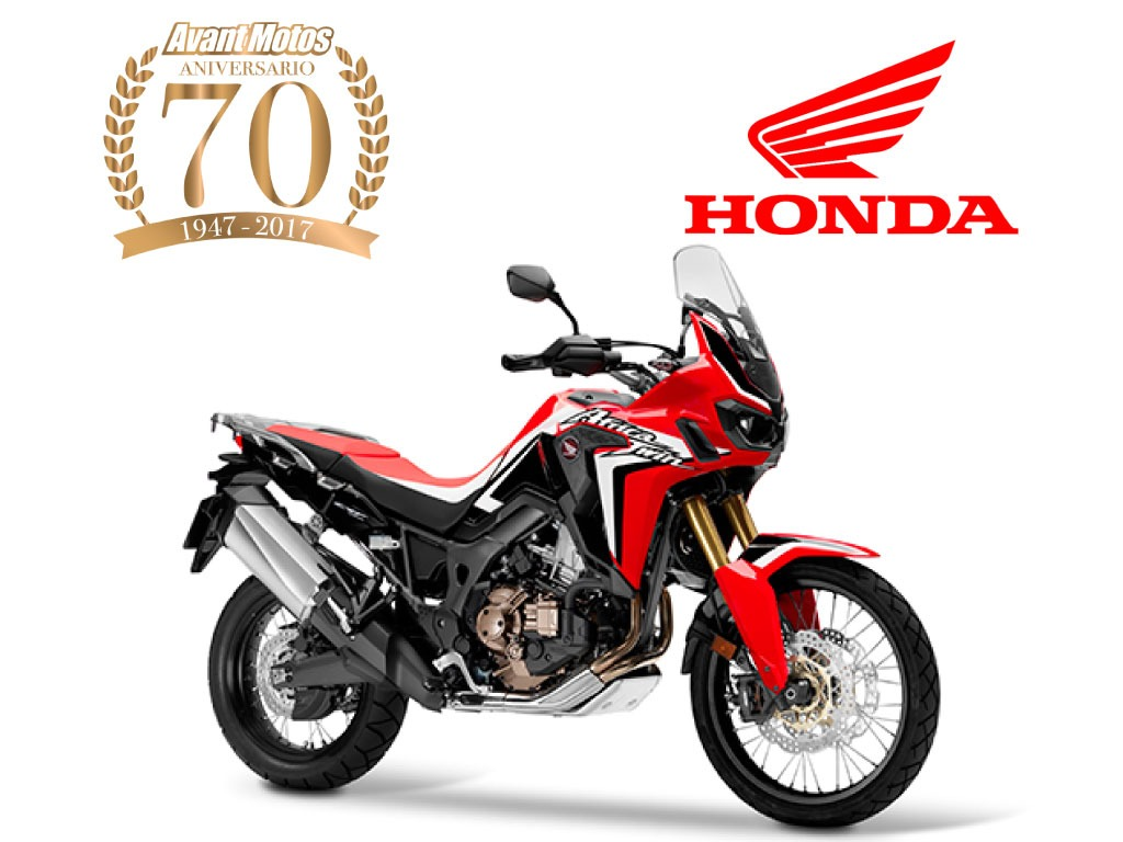 Honda Africa Twin 1000 Automatica Dct Roja 2018 9000kms