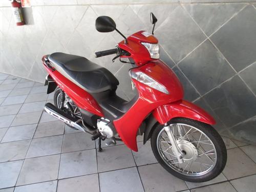 honda biz 110 i vermelha 2016