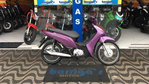 honda biz 125cc es rosa 2013 impecável