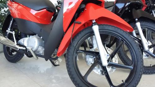honda biz full 125 nueva roja negra moto sur 2017