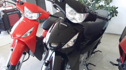 honda biz full 125 nueva roja negra moto sur 2019