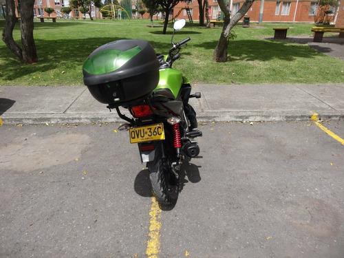 honda cb 110 verde unico dueño