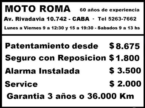 honda cb 125 18ctas$6.540 consultar contado motoroma