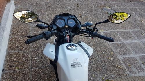 honda cb 125 f twister blanco cg  permuto qr motors