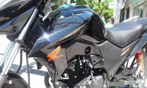 honda cb 125 twister okm financio ahora 12 / 18 centro motos