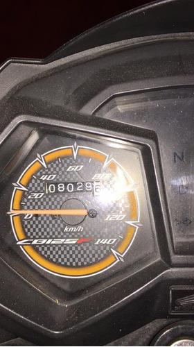 honda cb 125f modelo 2020 full herrajes, como nueva