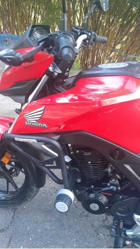 honda cb 160 std, mod 2019, traspaso incluido, recibo moto