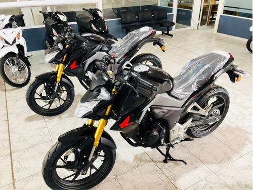 honda cb 190 0km- solo con dni paperino motos