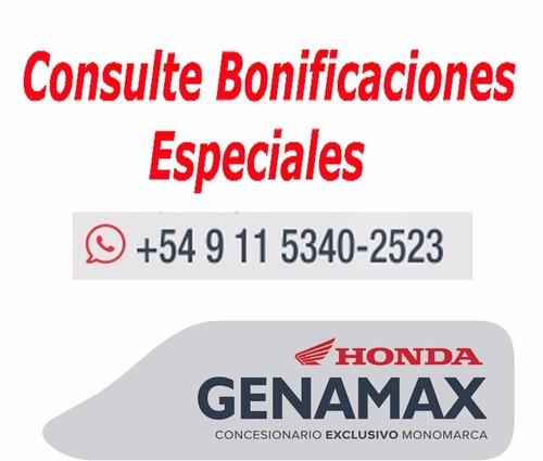 honda cb 190 r 2018 hasta 50 cuotas genamax