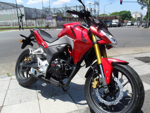 honda cb 190 r naked permuto ah12/18 financio centro motos