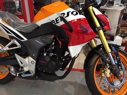 honda cb 190 r negra 2017 0 km nueva moto sur  roja