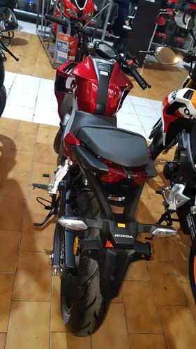 honda cb 190 r negro/rojo/repsol 0km
