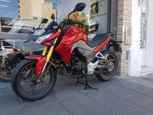 honda cb 190 r permuto rojo negro qr motors