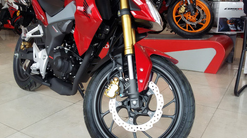 honda cb 190 r repsol 2018 0 km nueva moto sur negra roja